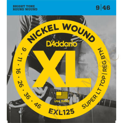D'Addario EXL125 Super LT Top 009-046 elektromos gitárhúr