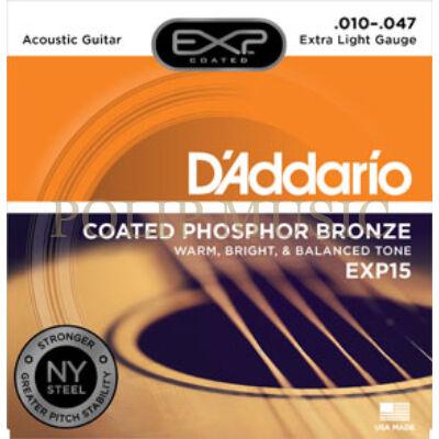 D'Addario EXP15 010-047 akusztikus húr