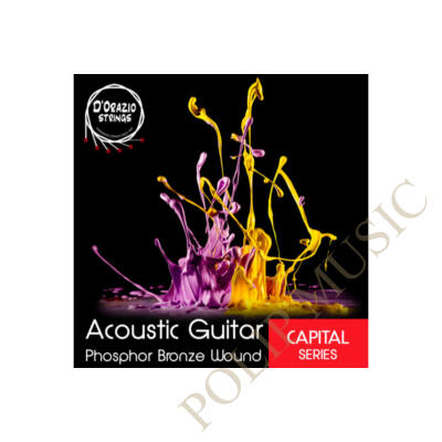 D'orazio - Phosphor Bronze light akusztikus gitárhúr 011-052
