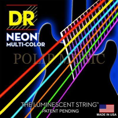 DR Strings MCE-10 Multi-Color  010-046 elektromos gitárhúr