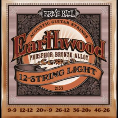 Ernie Ball 2153 Light 12 húros akusztikus húr
