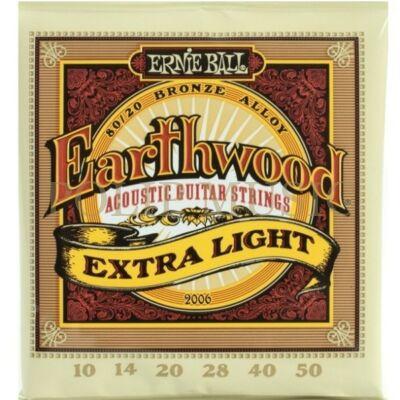 Ernie Ball 2006 Extra Light 010-050 akusztikus húr