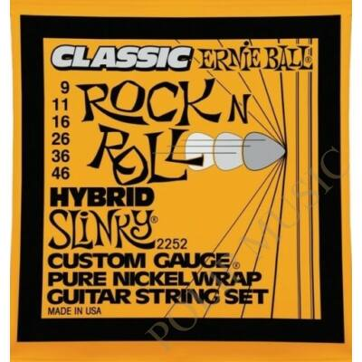 Ernie Ball 2252 Hybrid Slinky 009-046 elektromos gitárhúr