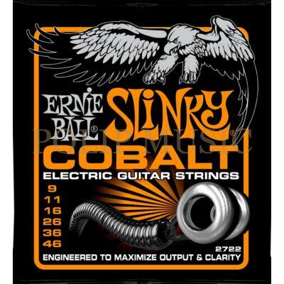 Ernie Ball 2722 Cobalt Hybrid Custom Light 009-046 elektromos gitárhúr