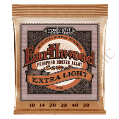 Ernie Ball 2150  Light Earthwood Phosphor Bronze 010-050 akusztikus húr