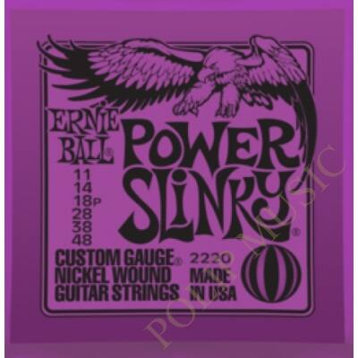 Ernie Ball 2220 Power Slinky 011-048 elektromos gitárhúr