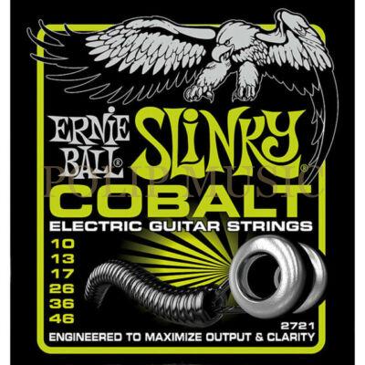 Ernie Ball 2721 Cobalt Light 010-046 elektromos gitárhúr