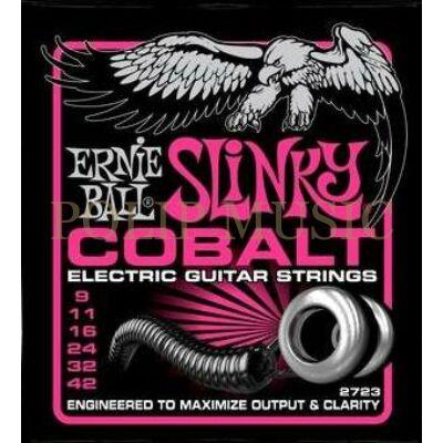 Ernie Ball 2723 Cobalt Custom Light 009-042 elektromos gitárhúr