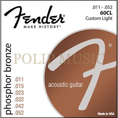 Fender 60 CL Custom Light 011-052 akusztikus húr