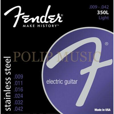 Fender Stainless 350L Light 009-042 elektromos gitárhúr