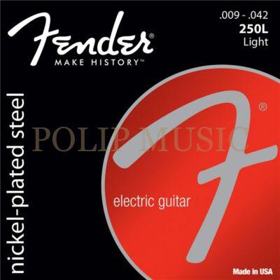 Fender Light 250L Nickel Plated Steel, 009-042 elektromos gitárhúr