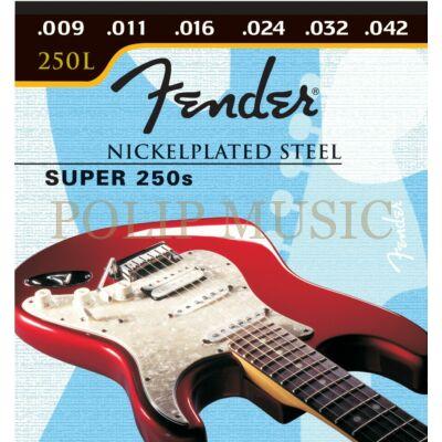 Fender Super 250S Super Light 009-042 elektromos gitárhúr