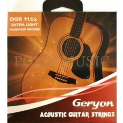 Geryon DGS-11-52 Custom Light akusztikus húr