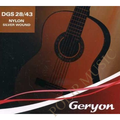 Geryon DGS-28-43 Silver Wound klasszikus gitárhúr