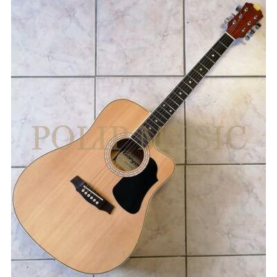 Geryon LD-18CEQ NAT Elektro-Akusztikus gitár