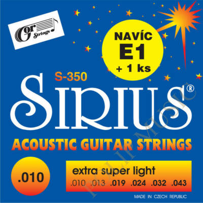 Gor Sirius S350 Extra Super Light 010-043 akusztikus húr