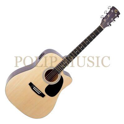 Soundsation Yellowstone DNCE NT elektroakusztikus gitár