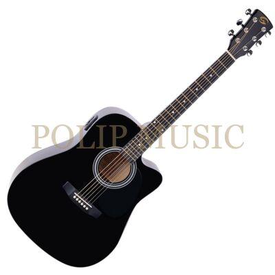 Soundsation Yosemite DNCE BK elektroakusztikus gitár