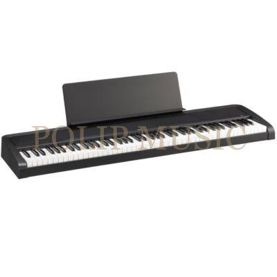 KORG B2 fekete  88 billentyű, kalapácsmechanika, USB midi digitális zongora