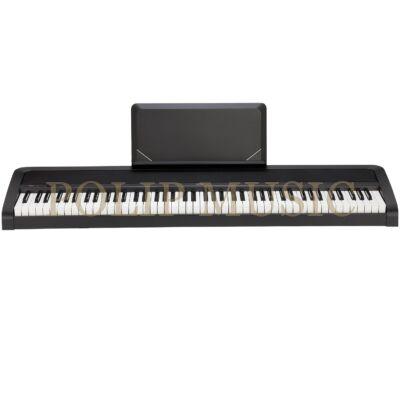 KORG B2N 88 billentyű naturális mechanika, USB MIDI, fekete digitális zongora