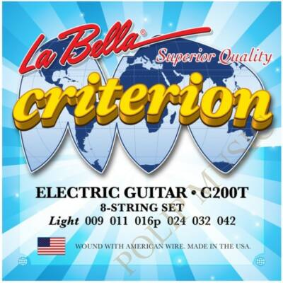 La Bella Criterion C200T Light 009-042 elektromos gitárhúr