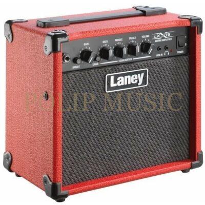 "Laney LX15 RD 15W 2x 5"" Custom driver, 3 sávos EQ Tranzisztoros gitárkombó"