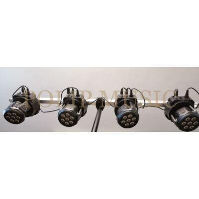 Lixada DMX-512 Mini mozgó fej LED színpadfény