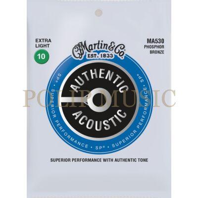Martin MA530 Foszfor Bronz Light 010-047 akusztikus húr
