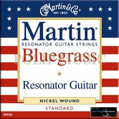 Martin M980 Bluegrass Resonator Medium 016-056 akusztikus húr