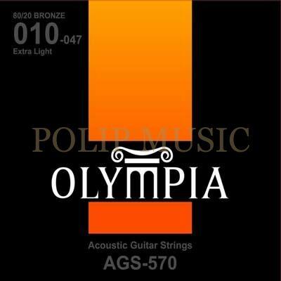 Olympia AGS 570 Extra Light 010-047 akusztikus húr