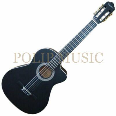 Pasadena SC041C BK 4/4 klasszikus gitár