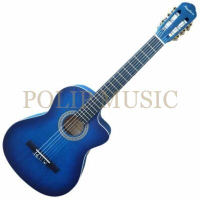 Pasadena SC041C BL 4/4 klasszikus gitár