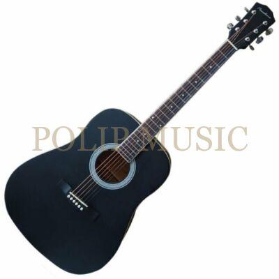 Pasadena SG028 Black akusztikus gitár