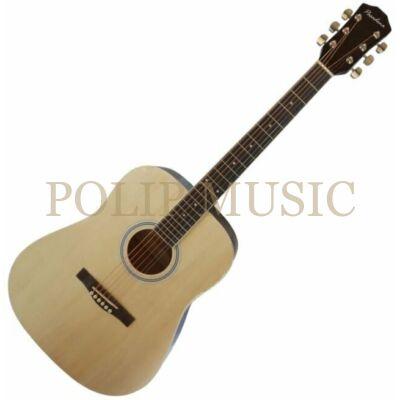 Pasadena SG028 Natural akusztikus gitár (sérült!)