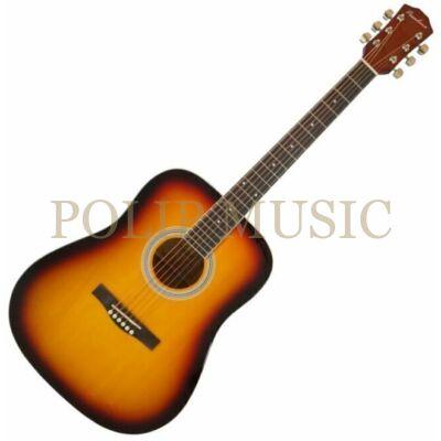 Pasadena SG028 Vintage Sunburst akusztikus gitár ( kicsomagolt )