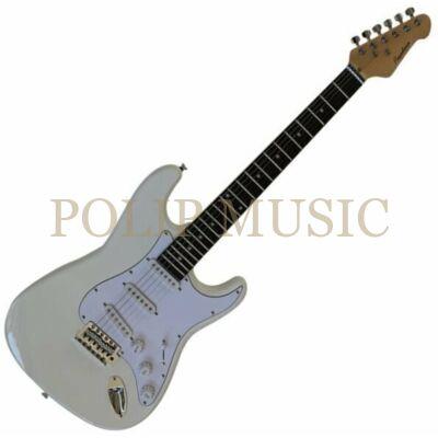 Pasadena ST11 Stratocaster White elektromos gitár