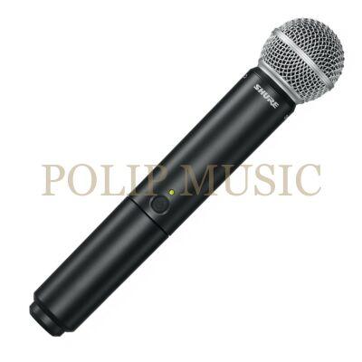 Shure BLX2/SM58 Kéziadó SM58 mikrofonfejjel