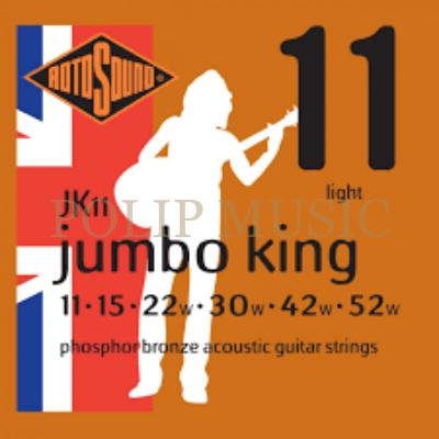 Rotosound JK11 Phosphor Bronz Light Tension 011-052w akusztikus húr