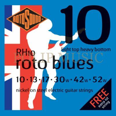 Rotosound RH10 Light Top Heavy Bottom 010-052 elektromos gitárhúr