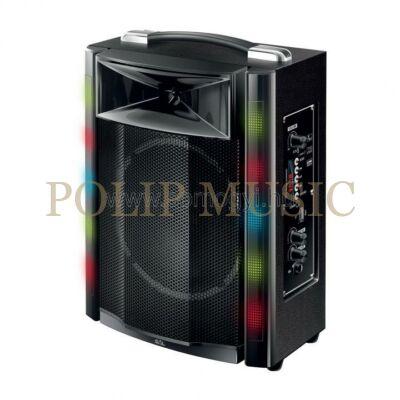 Sal PAR 16BT Hordozható party hangdoboz, beépített akkumulátorral és LED fénnyel
