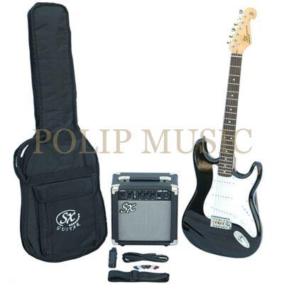 SX-SE1 Sunburst elektromos gitár szett