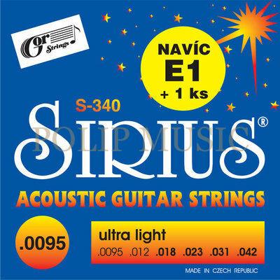 Gor Sirius S-340 Ultra Light 0095-042 akusztikus húr