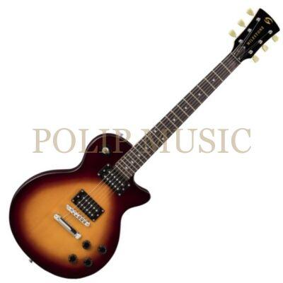 Soundsation Milestone ST VSB lapos fedlapu cutaway elektromos gitár