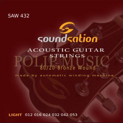 Soundsation SAW 432 Light 012-053 Akusztikusgitár húrszett
