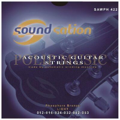 Soundsation SAWPH-422 Foszfor bronz Light 012-053 akusztikusgitár húrszett