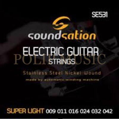 Soundsation SE531 Super Light 009-046 elektromos húrkészlet