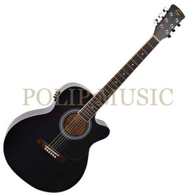 Soundsation Yellowstone MJCE BK elektroakusztikus gitár