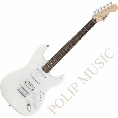 Squier Bullet Strat HT HSS Arctic White elektromos gitár
