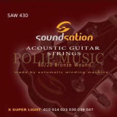 Soundsation SAW 430 Super Light 010-047 akusztikus húr