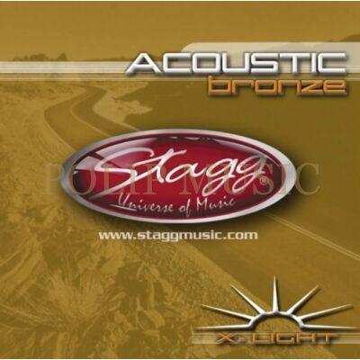 Stagg AC-1048-BR 010-048 Extra-light Bronz akusztikusgitár húr